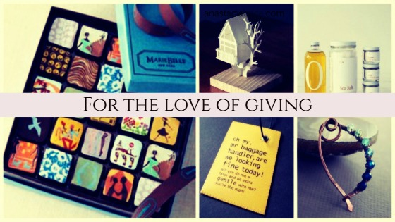 for the love of giving